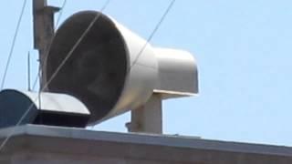 Federal Signal 500AT Tornado Siren in Attack.