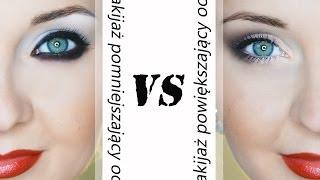 getlinkyoutube.com-Makijaż powiększający i pomniejszający oczy