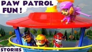 Paw Patrol Fun for Kids Episodes with Toys Family Friendly Story Compilation and Surprise Toys TT4U