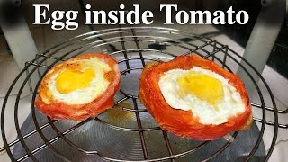 getlinkyoutube.com-Egg inside Tomato Recipe