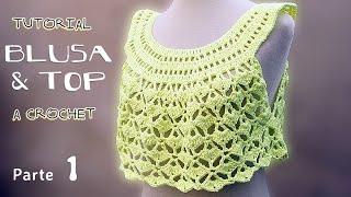 getlinkyoutube.com-Tutorial Blusa y Top a Crochet, TODOS LOS TALLES (1 de 2)