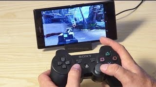 getlinkyoutube.com-How to connect PS3 controller to Android phone HD Sixaxis Controller