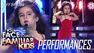 Your Face Sounds Familiar Kids: Xia Vigor as Thalia - Maria Mercedes