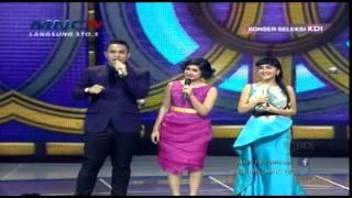 getlinkyoutube.com-Perjuangan Juan Rahman Meluluhkan Hati Bianca - Konser Seleksi KDI 2015 (24/3)