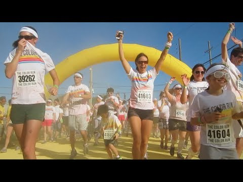 Parkour and Freerunning at The Color Run Orlando 2013