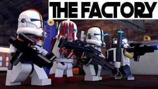 getlinkyoutube.com-LEGO STAR WARS - CLONE WARS 3 - THE FACTORY