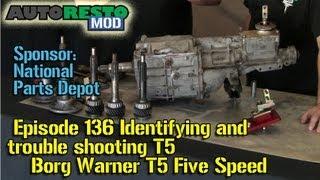 getlinkyoutube.com-Identifying and trouble shooting Borg Warner T5 Five Speed Episode136 Autorestomod