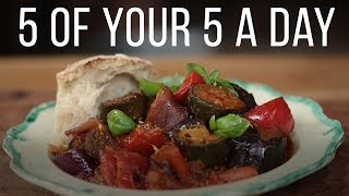 getlinkyoutube.com-Classic Ratatouille | 5 A Day Dish