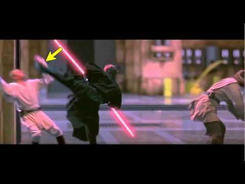 Lightsaber duels