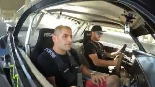 [HOONIGAN] Chris Harris rides with Ken Block in the Gymkhana Seven Hoonicorn