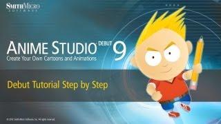 getlinkyoutube.com-Anime Studio 9 (Moho) Debut Tutorial - Step by Step Tutorial