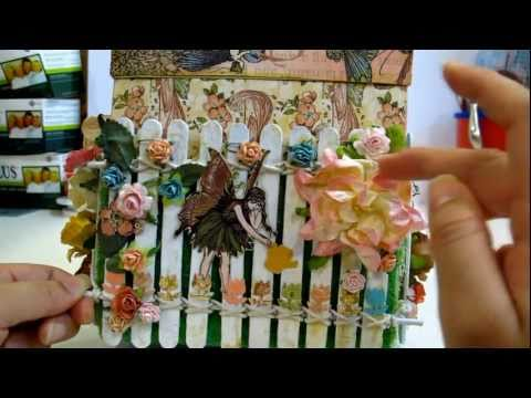 "Magical Explosion Box w Once Upon Springtime: IAMROSES ""In The Garden"" Contest Entry"