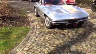 getlinkyoutube.com-Corvette C2 1963 sound!