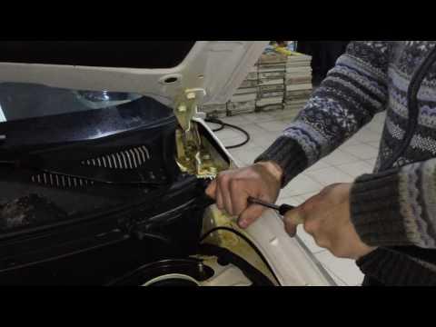 CHERY TIGGO 3 установка упоров капота от компании ПАТРИОТ