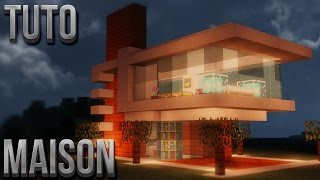 getlinkyoutube.com-TUTO BELLE MAISON MODERNE | Minecraft
