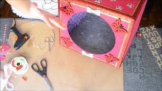 getlinkyoutube.com-♥ Tutorial: Casita para mascotas de cartón reciclado ♥