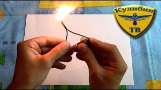 КАК СДЕЛАТЬ ЭЛЕКТРОННУЮ СПИЧКУ / How to make Electric Matches