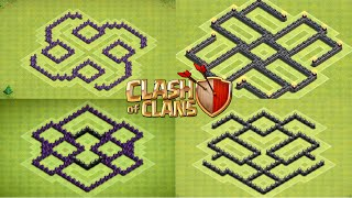 getlinkyoutube.com-Clash of Clans Top 5 TH6 Farming Bases (November 2014)