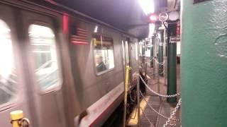 getlinkyoutube.com-MTA Subway: R142 2 Train At South Ferry