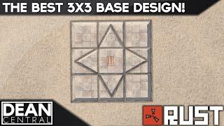 getlinkyoutube.com-Strongest 3x3 Solo Base Design | Advanced Rust Building #10