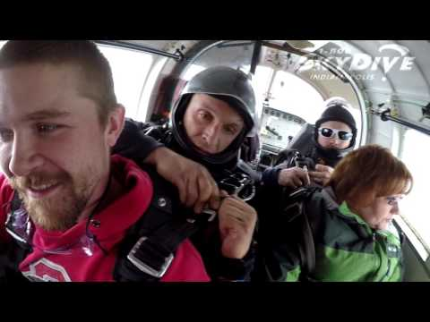 Jonathan Wright's Tandem skydive!
