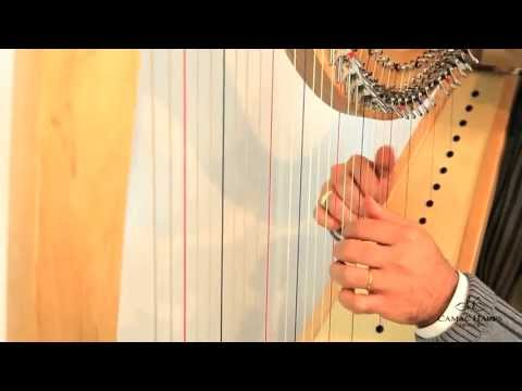 New Isolde harp video presentation
