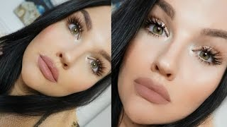 getlinkyoutube.com-Everyday Glowy Glam Makeup 2016!