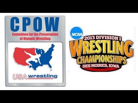 CPOW Press Conference at NCAA Wrestling Championships