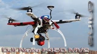 getlinkyoutube.com-DJI  F450  Naza MV2 GPS Quadcopter Build & Flight