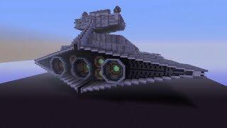 getlinkyoutube.com-Minecraft Xbox - Star Destroyer - Star Wars World Tour - Part 1