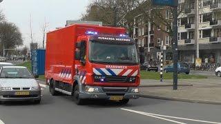 getlinkyoutube.com-PRIO 1 brandweer Pijnacker met springkussen naar Rotterdam