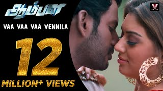 getlinkyoutube.com-Vaa Vaa Vaa Vennila - Official Video Song | Aambala | Vishal,Hansika | Sundar C | Hiphop Tamizha