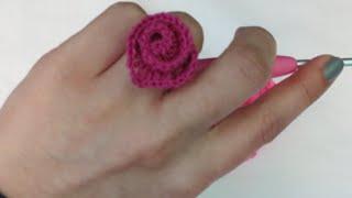 getlinkyoutube.com-كروشيه القلب الحلزوني | Crochet Spiral Heart