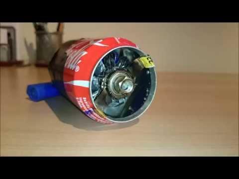 Turbina de avión casera v1