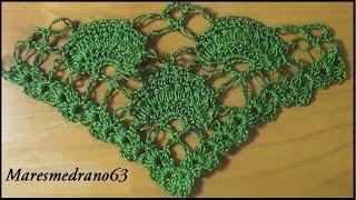 getlinkyoutube.com-Chal verde a crochet