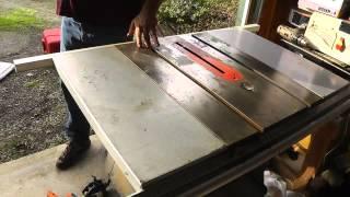 getlinkyoutube.com-How To Clean A Rusty Table Saw