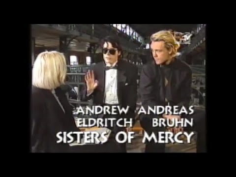 The Sisters Of Mercy - interview Andrew + Andreas, part 2 - MTV 1990
