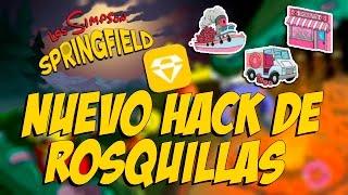 getlinkyoutube.com-Nuevo Hack De Rosquillas Infinitas | Solo Jailbreak (iOS) | - Los Simson Springfield
