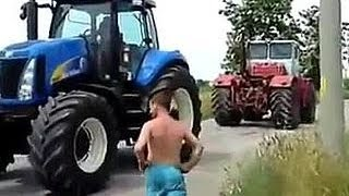 Битвы тракторов - Перетяни меня если сможешь
