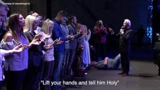 Roy Fields Gets Rocked at Benny Hinn Meeting width=