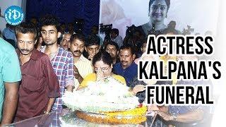 getlinkyoutube.com-Actress Kalpana's funeral || A Final Goodbye