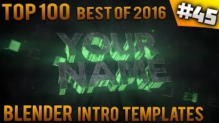 getlinkyoutube.com-TOP 100 BEST Blender intro templates of 2016 (Free download)