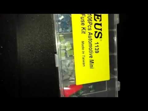 Automotive Mini Fuse Kit - Japan Type (Code: 1139)