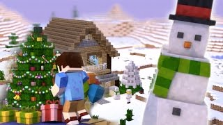 getlinkyoutube.com-Christmas In Minecraft - Minecraft Animation