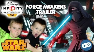 Disney Infinity 3.0 Star Wars The Force Awakens Trailer Reaction