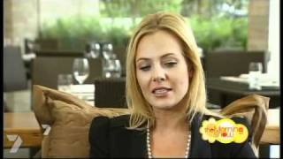 getlinkyoutube.com-Jessica Marais interview- The Morning Show (November, 2010)