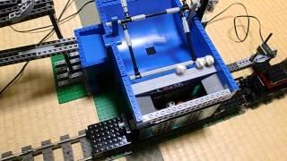 getlinkyoutube.com-LEGO GBC 20 modules 【レゴ】 玉ころがしをつくってみた Lego City