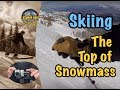 Skiing the Top of Snowmass Ski Resort // The Gimbal vs. Hanging Valley and the Cirque