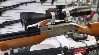 getlinkyoutube.com-Rifle PCP Sumatra 2500 500cc prueba de velocidad, potencia y agrupación a 50mt