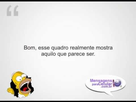 Frases engraçadas do Homer Simpsons